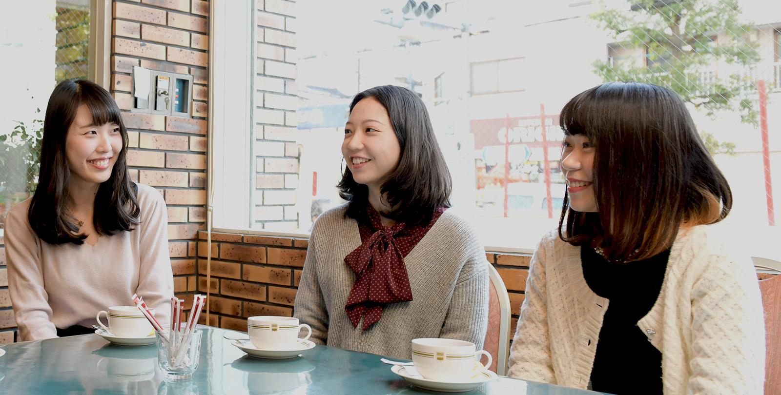 女性社員の座談会